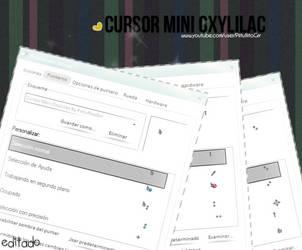 Cursor Mini OxyLilac By PiitufiitoGrr by PiitufiitoGrr