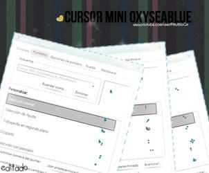 Cursor Mini OxySeaBlue By PiitufiitoGrr by PiitufiitoGrr