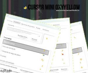 Cursor Mini OxyYellow By PiitufiitoGrr by PiitufiitoGrr