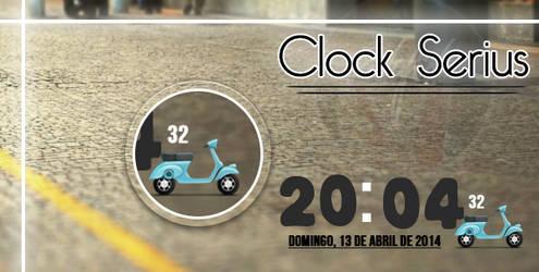 Clock Serius By Piitu