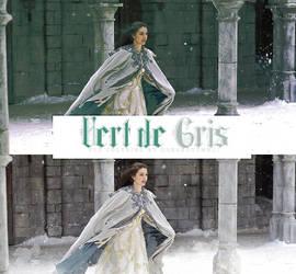 Vert de gris coloring psd by Gorgeousmali