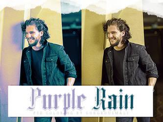 Coloring Purple Rain by Gorgeousmali