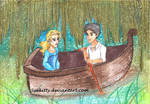 Percabeth: The Little Mermaid 'Kiss the girl'