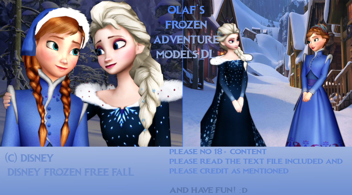 MMD Olaf's Frozen Adventure Models DL! UPDATE by King-Of-Snow