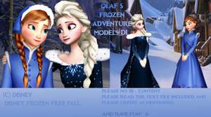 MMD Olaf's Frozen Adventure Models DL! UPDATE