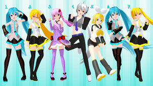 [MMD] Casual Girl Poses - DL