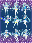 [MMD] Magical Pose Pack - DL