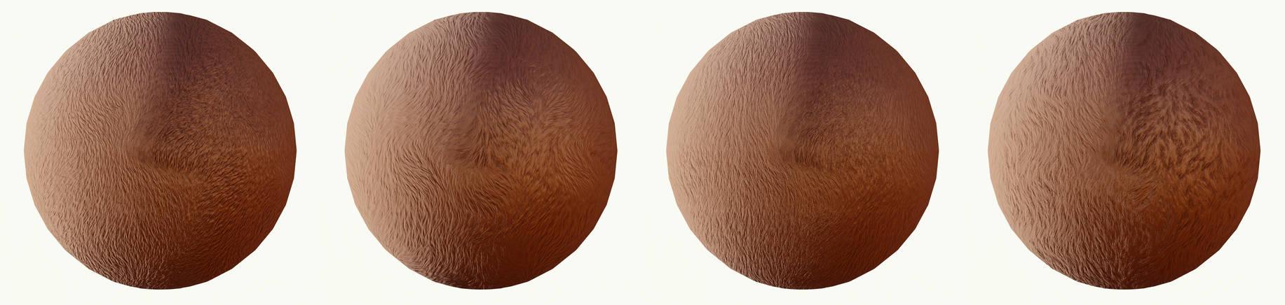 [MMD] Fur Normal Maps for Raycast - DL