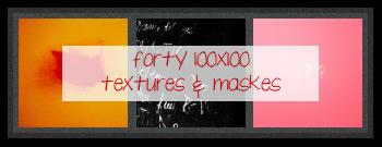 40 100X100 textures by isleofyew