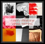 23 large various textures