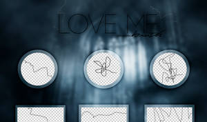 +LOVE ME//BRUSHES