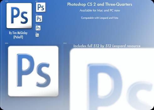 Photoshop CS2 and 3 Quarters