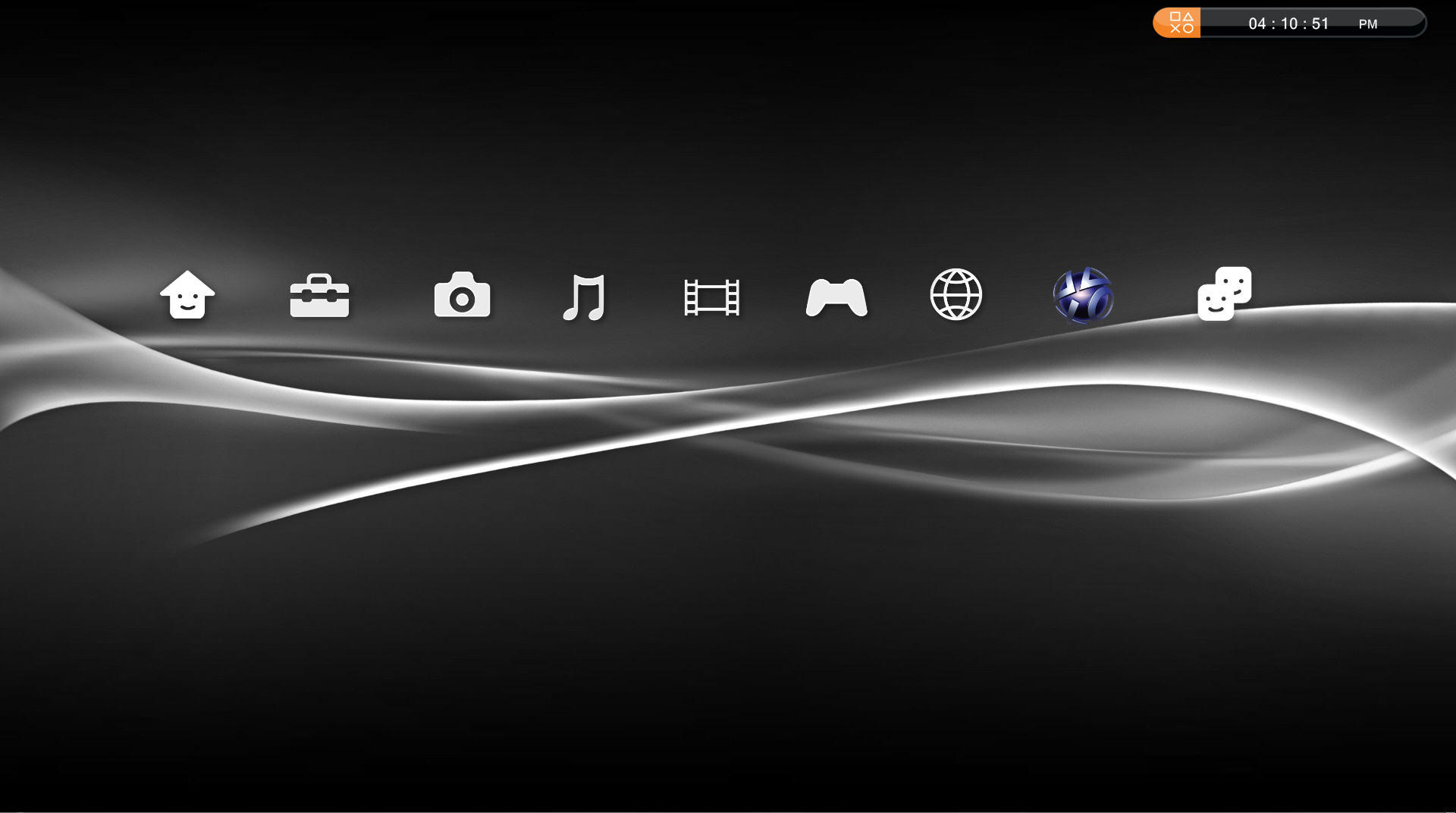 PS3 GUI for your desktop PC by jmr101 on DeviantArt
