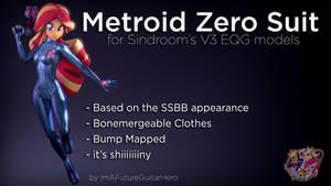 [SFM] [MLP] [DL] Metroid Zero Suit for V3 EQG