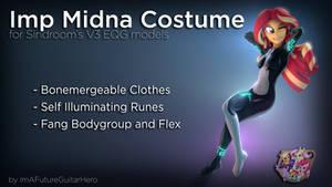 [SFM] [MLP] [DL] Imp Midna Costume for V3 EQG