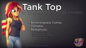 [SFM] [MLP] [DL] Tank Top for V3 EQG
