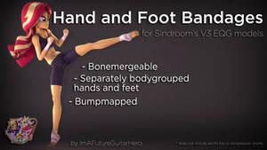 [SFM] [MLP] [DL] Hand and Foot Bandages for V3 EQG