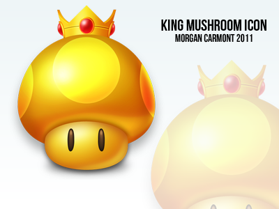King Mushroom Icon by morgcar