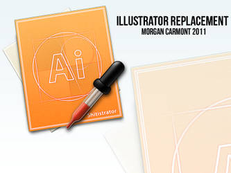 Illustrator Replacement Icon by morgcar