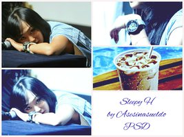 Sleepy H by Asesinasueldo PSD by asesinasueldo