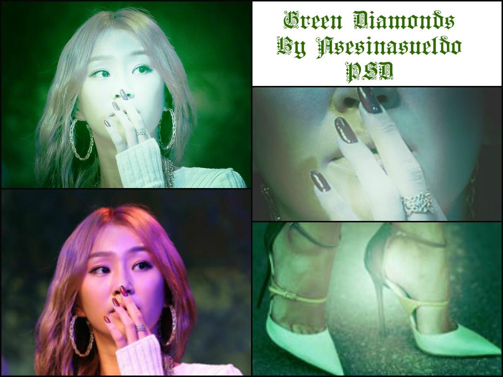 Green Diamont H by asesinasueldo