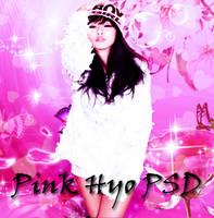 psd-Pink Hyorin/hyolyn by asesinasueldo