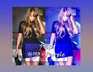 Hyolyn purple by asesinasueldo