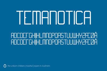 Temanotica Font