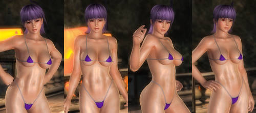 Ayane Micro Bikini Mila 001 (22 Pics) by DOA5lrScreenShots