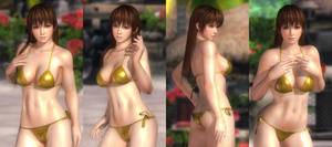 Kasumi Golden Bikini 001 (23 Pics)