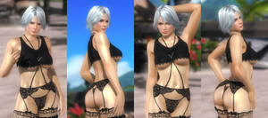 Christie Asari Black 001 (18 Pics) by DOA5lrScreenShots