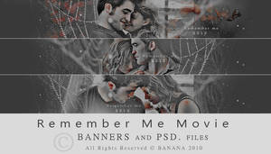 Remember Me - BANNERS + PSD -