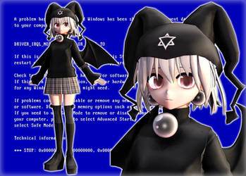 [MMD] Digital Witch Mayura + DL!