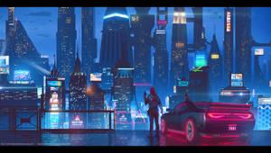 City Glow - Animated