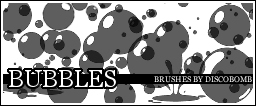 Bubble Brushes by DiscoBomb by discobomb