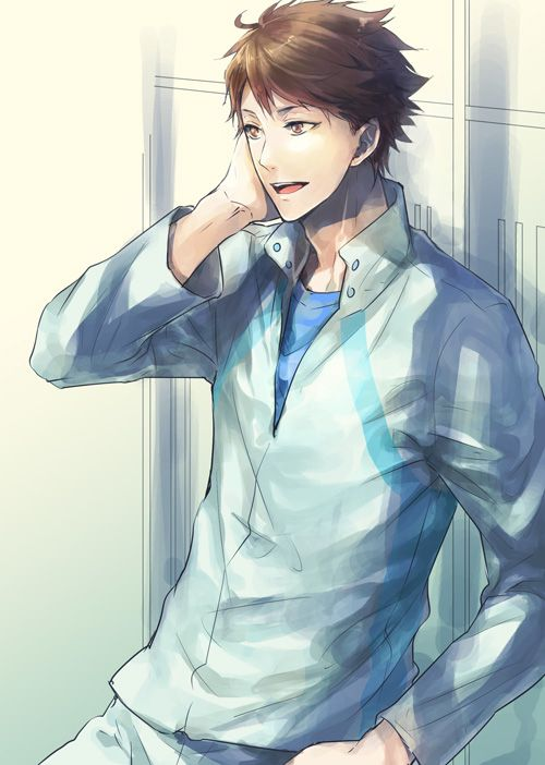 anime guys fainting: Oikawa Tooru By Yasmochi On DeviantArt