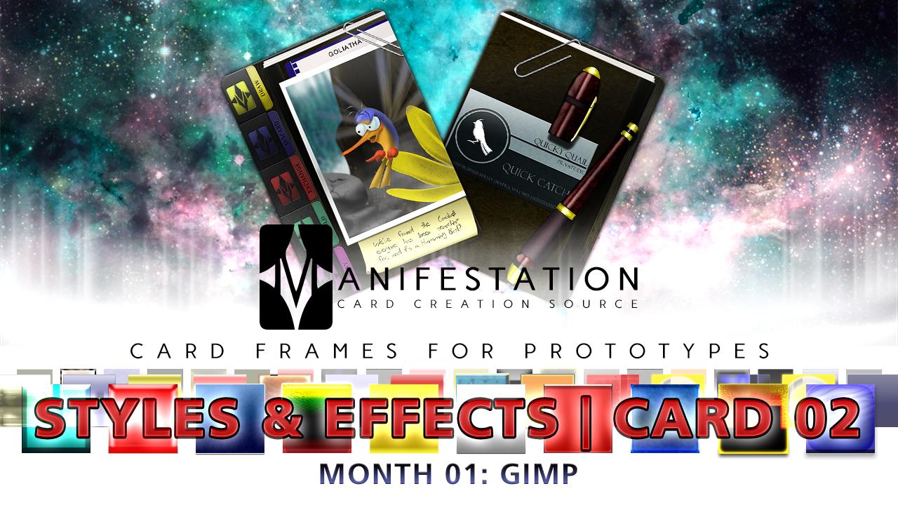 Month 01: Card 02 - GIMP (S+E   Current Era)