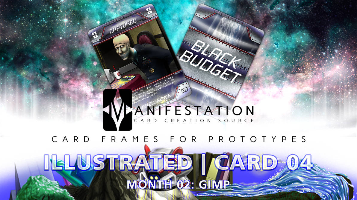 Month 02: Card 04 - GIMP (Illustrated | Current-E) by CauseThought