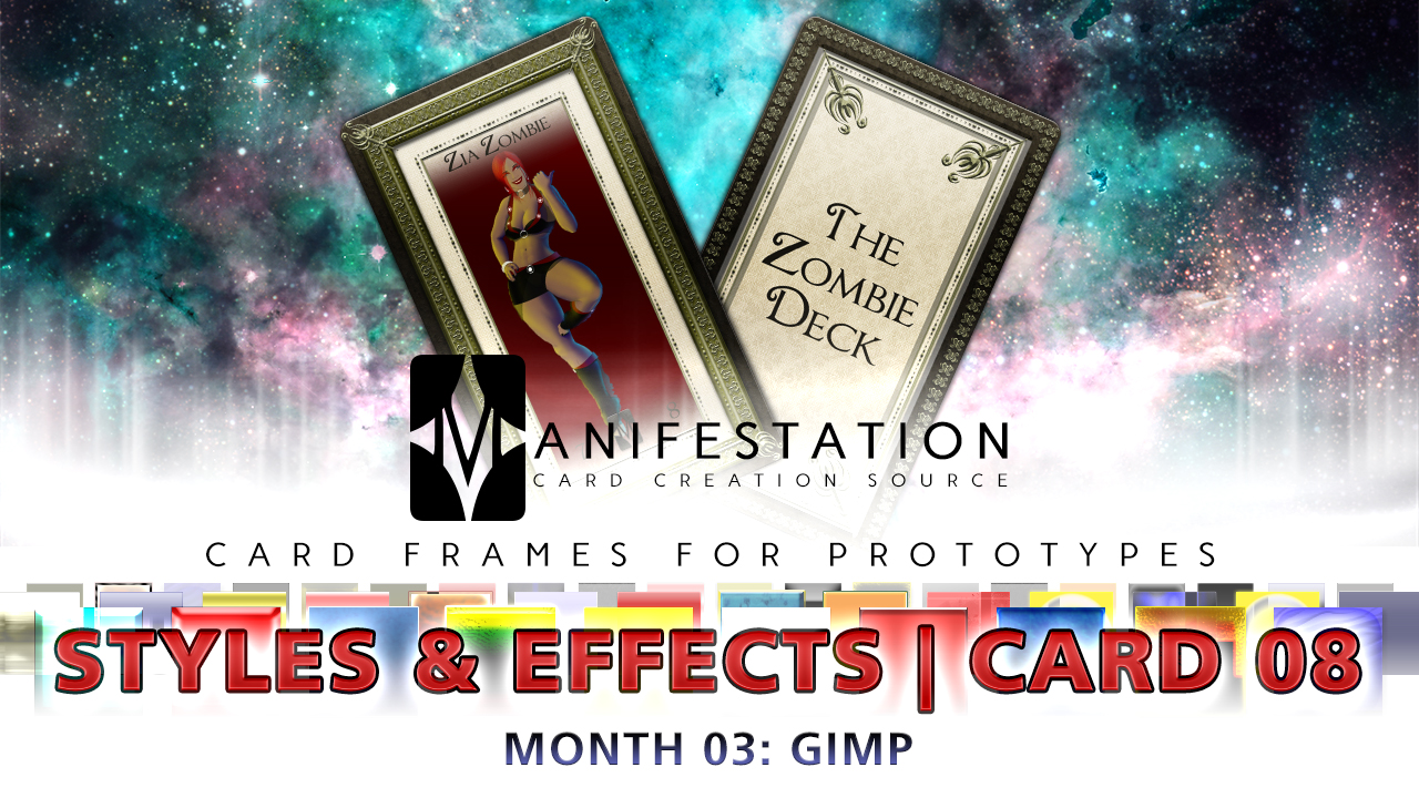 Month 03: Card 08 - Gimp (Styles + Effect | Tarot) by CauseThought