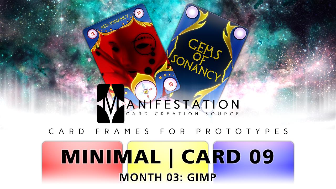 Month 03: Card 09 - Photoshop (Minimal | Past Age)