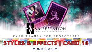 Month 05: Card 14 - GIMP (Styles + E | Modern Age)