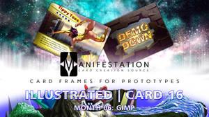 Month 06: Card 16 - Gimp (Illustrated | Current E)