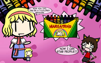 Walfas Custom Prop: Margatroid Crayons by Noraneko-Sparks