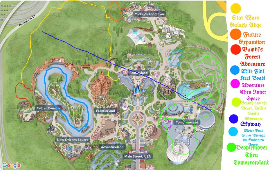My vision for Disneyland in 2025! by EmilioKiara