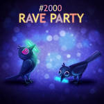 Daily Paint 2000# Rave Party! (Animated)