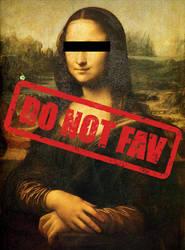DO NOT FAV rubber stamp