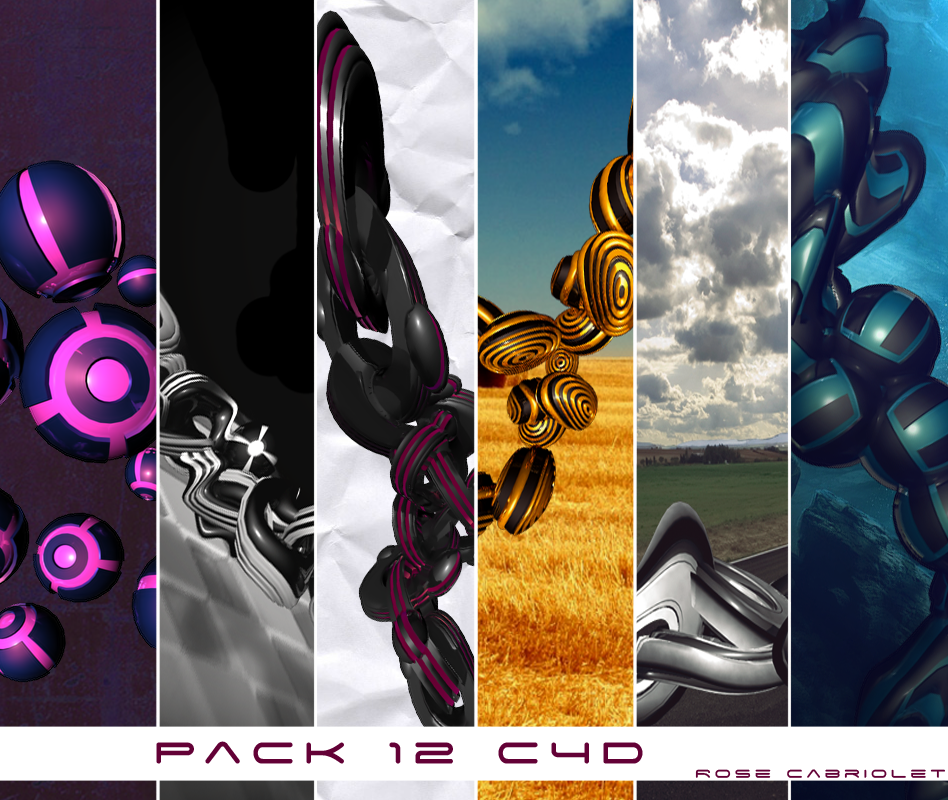 Pack de C4D Pack_C4D_RoseCabriolet_by_RoseCabriolet