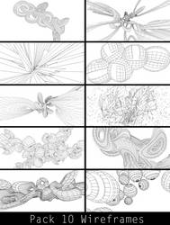Pack 10 Wireframes RC by RoseCabriolet