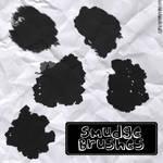 Smudge Brushes RoseCabriolet