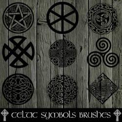Celtic Symbols Brushes